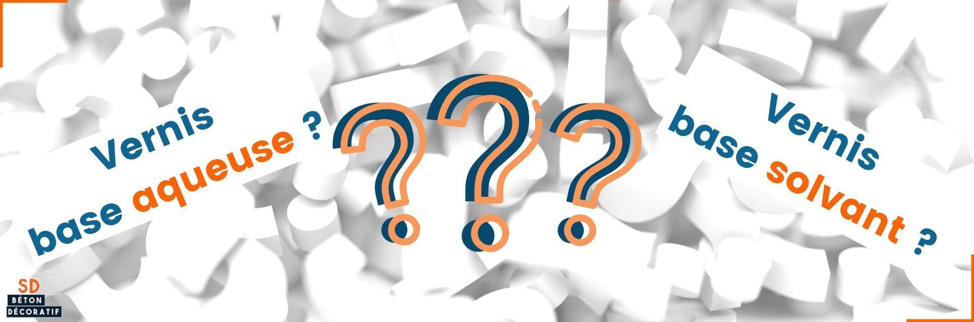 Les vernis : base aqueuse  ou solvant ?